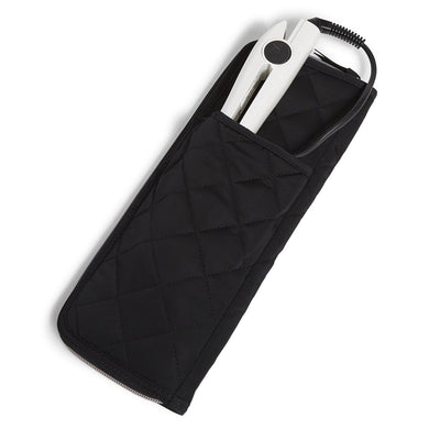 Black Performance Twill-Curling & Flat Iron Cover