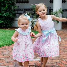 Load image into Gallery viewer, The Bailey Boys-Pink Floral Dress