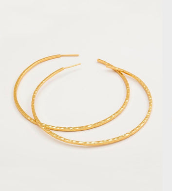 Taner XL Hoop Earrings-Gold
