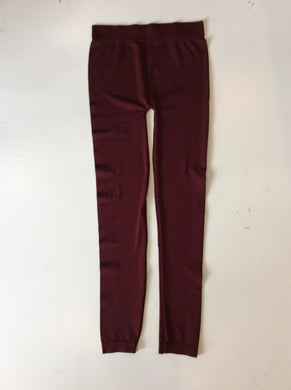 Sofra Leggings-Burgundy