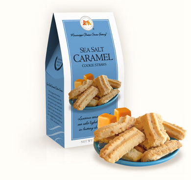 Sea Salt Caramel Cookie Straws-3.5 oz