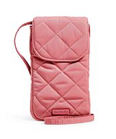 Strawberry Ice Performance Twill-Carson RFID Deluxe Cellphone Crossbody