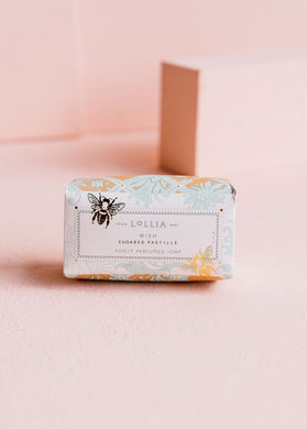 Lollia-WishNo. 22-Shea Butter Soap