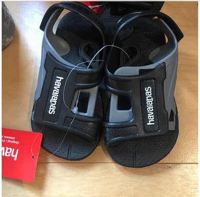 Havaianas-Move Sandals-Black/Grey