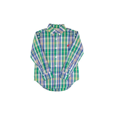 tbbc-Dean's List Dress Shirt Primary School Plaid