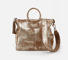 Load image into Gallery viewer, SHEILA Handbag- Gilded Leaf Metallic