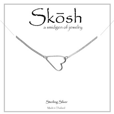 Skosh Sweet Heart Bracelet-Sterling Silver