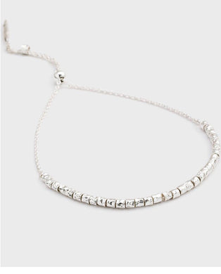 Laguna Adjustable Bracelet-Silver