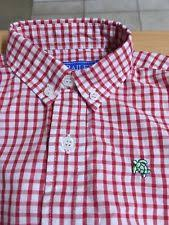 Roscoe Button Down-Red White Plaid