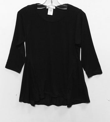 Area Code 407-Cora Tunic Top(Black)
