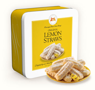 Original Lemon Straws-10 oz Gift Tin
