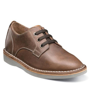 Florsheim NAVIGATOR PLAIN TOE OX,JR-Brown Crazy Horse