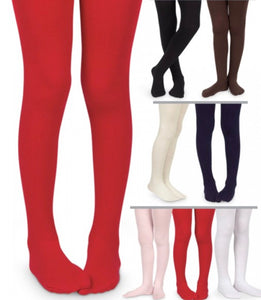 Jefferies-Girls Smooth Microfiber Tights-(Asst. COLORS)