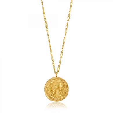 Roman Empress Necklace-Gold