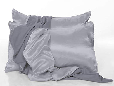 PJ Harlow-Satin Pillow Cases Set of 2(Asst Colors)-King