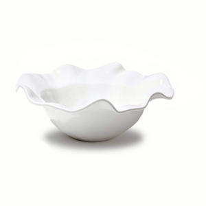 VIDA Havana Large White Serving Bowl