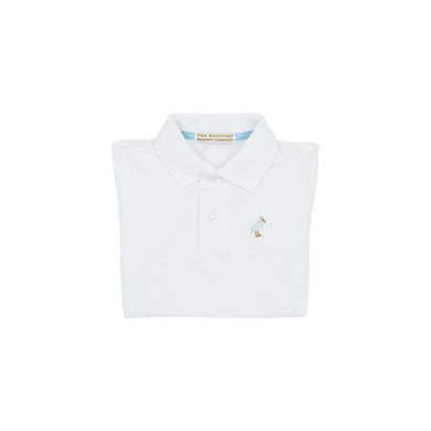 tbbc-Prim and Proper Polo SS-Worth Avenue White