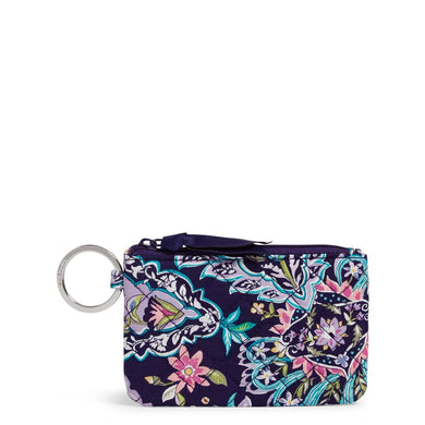 French Paisley-Zip ID Case