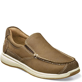 Florsheim Great Lakes Jr. Moc Toe Slip On-Stone