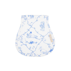 TBBC-Oopsie Daisy Burp Cloth Chinoiserie Chap