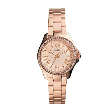 Cecile Small Rose Gold-Tone Stainless Steel Watch