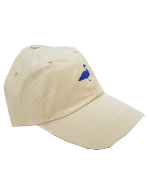 Properly Tied-Kids Cotton Logo Cap-Khaki