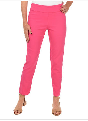 Krazy Larry Ankle Pant- Fuschia
