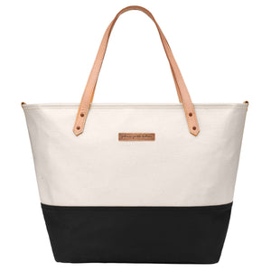Downtown Tote-Birch/Black