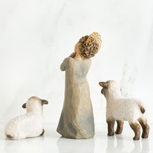 Load image into Gallery viewer, WILLOW TREE®, LITTLE SHEPHERDESS