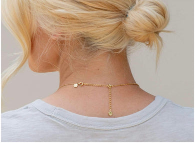 "3"" Gold Necklace Extender"