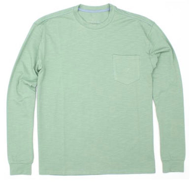 Properly Tied-LIL DUCKLINGS SHORE TEE LONG SLEEVE-Moss