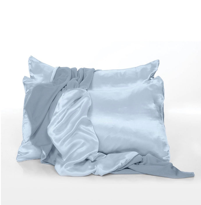PJ Harlow-Satin Pillow Cases Set of 2(Asst Colors)-Standard or King