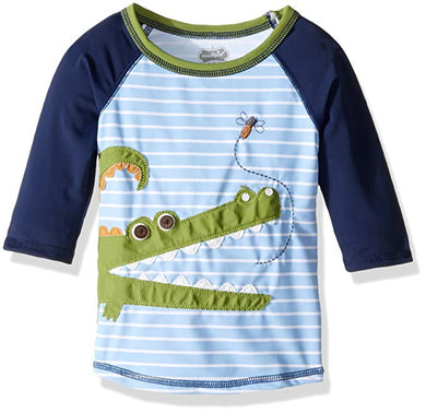 Mud Pie-Boys Gator Rash Guard Top