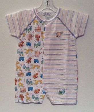 Kissy Kissy-Baby Boys Short Playsuit-Born to Run