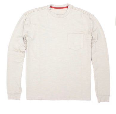 Properly Tied-LIL DUCKLINGS SHORE TEE LONG SLEEVE-PEWTER