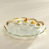 Deviled Egg Platter-Gold Roman Antique