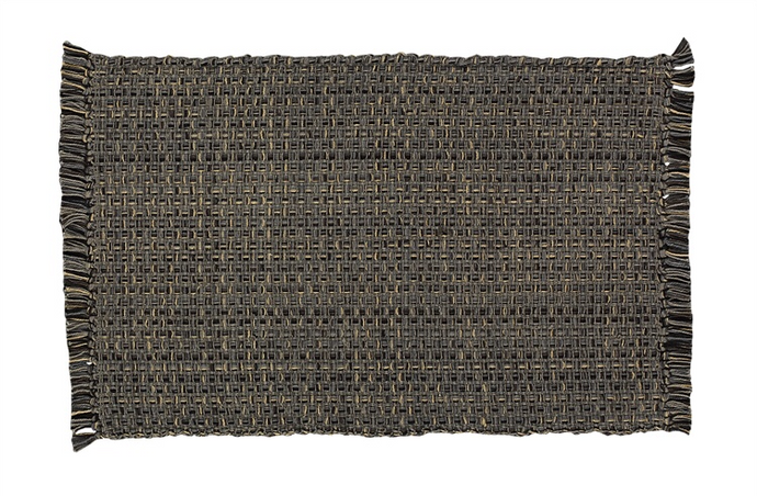Tweed Placemat-Charcoal