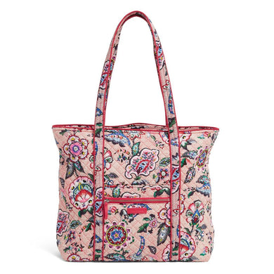 Stitched Flowers-Iconic Vera Tote