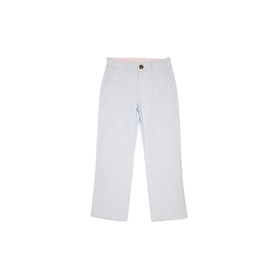 TBBC-Prep School Pants-Breakers Blue Seersucker with Buckhead Blue Stork