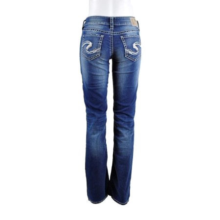 Silver Jeans-Suki Mid Rise Bootcut Jeans