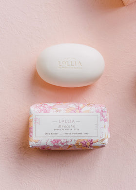 Lollia-Breathe No. 19-Shea Butter Soap
