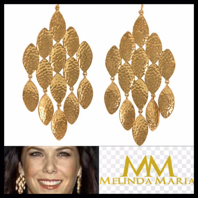 Emma Lee Pod Earrings-Gold