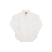 Load image into Gallery viewer, TBBC-Dean's List Dress Shirt Worth Avenue White