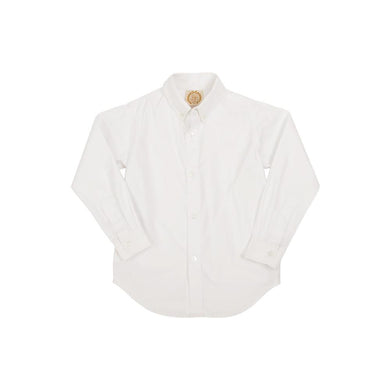 TBBC-Dean's List Dress Shirt Worth Avenue White