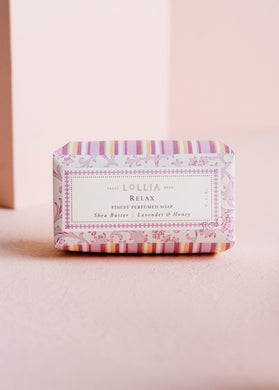 Lollia-Relax No. 08-Shea Butter Soap