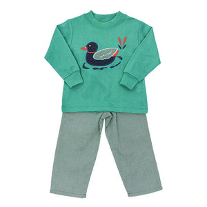 The Bailey Boys-Mallard Pant Set