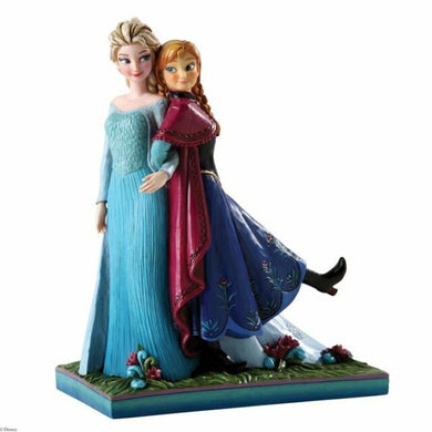 Disney Traditions-Frozen Sisters Forever Figurine: Anna & Elsa