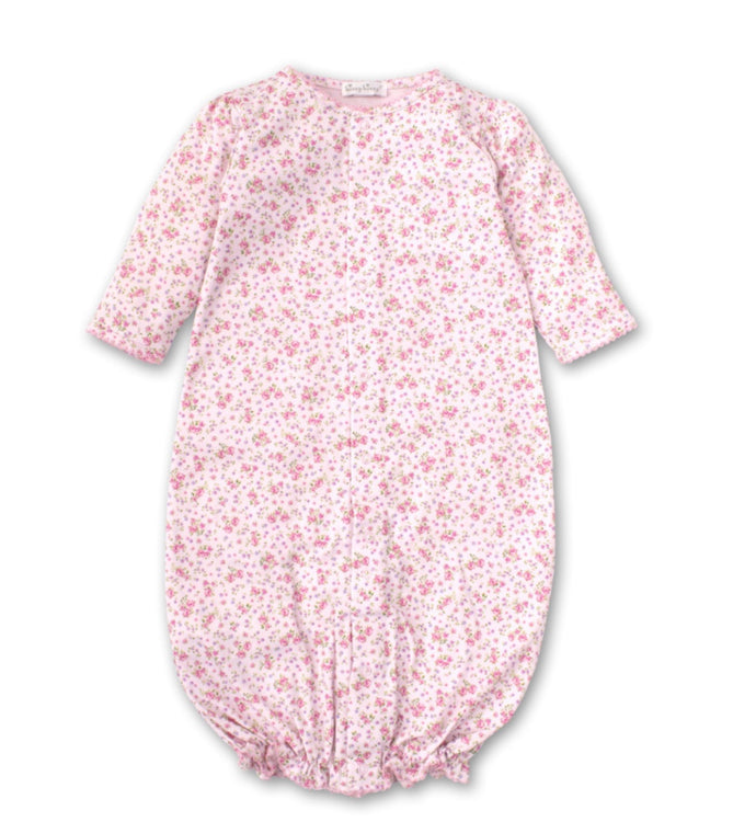 Kissy Kissy-Baby Girls Dusty Rose Convertible Gown