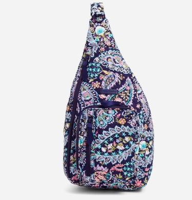 French Paisley-Sling Backpack