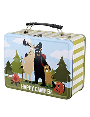 Happy Camper Tin Lunch Box